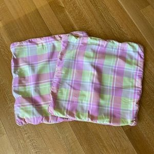 Sham throw pillow cover set